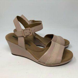 CLARKS Lafley Aletha Platform wedge sandal 7.5